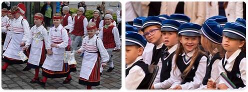 Estonia Population 2016