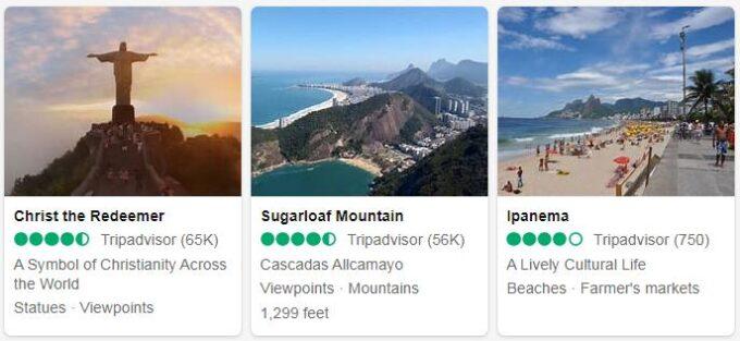 Brazil Top Sights